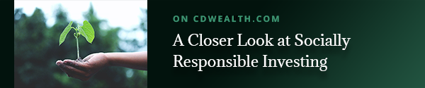 Promo for an article titled A Closer Look at Socially Responsible Investing